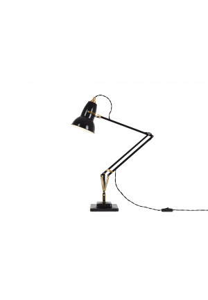 Anglepoise Original 1227 Brass Desk Lamp schwarz