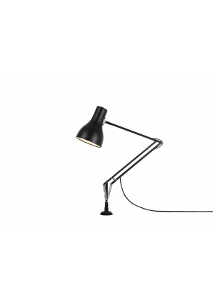 Anglepoise Type 75 Lamp with Desk Insert schwarz