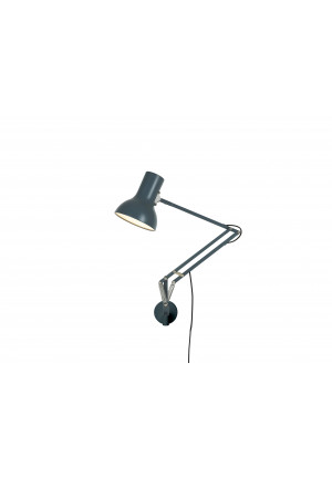 Anglepoise Type 75 Mini Lamp with Wall Bracket grau