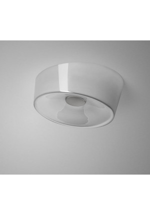 Foscarini Lumiere XXL Soffitto Parete LED grau