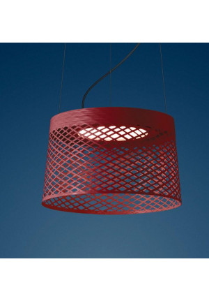Foscarini Twiggy Grid Outdoor Sospensione rot