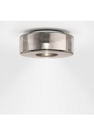 Serien Lighting Curling Ceiling neusilber M