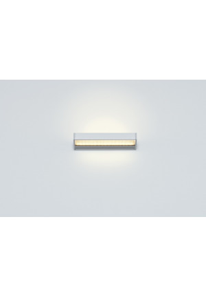 Serien Lighting SML2 Wall 220 Silber satinee / raster