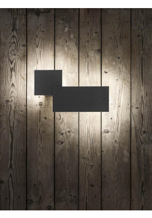 Studio Italia Design Puzzle Outdoor Square & Rectangle schwarz
