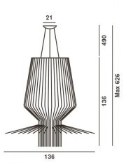 Foscarini Allegro Assai Halogen GRafik