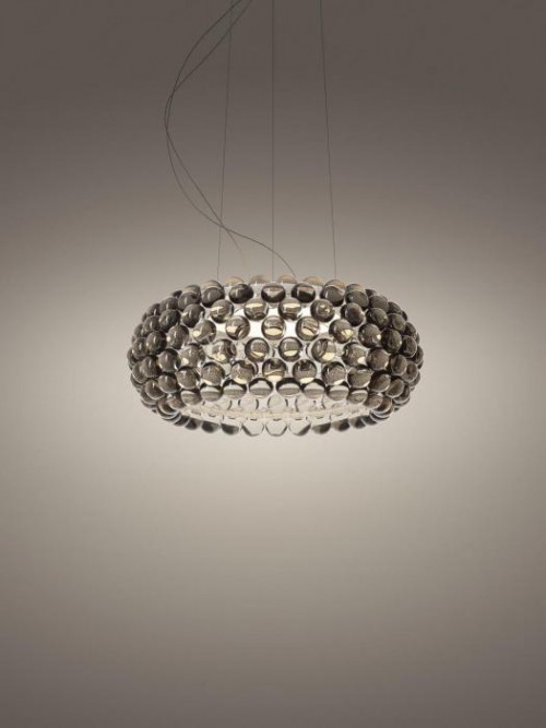 Foscarini Caboche Plus Sospensione Media grau