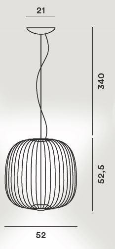 Foscarini Spokes 2 Grafik