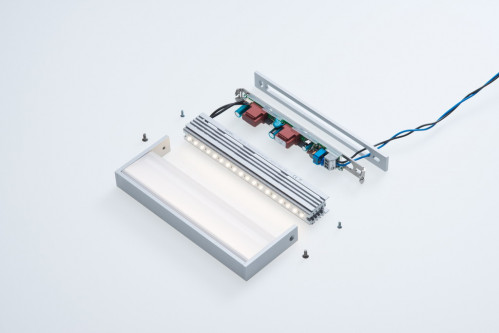 cover plate for SML LED Small schwarz