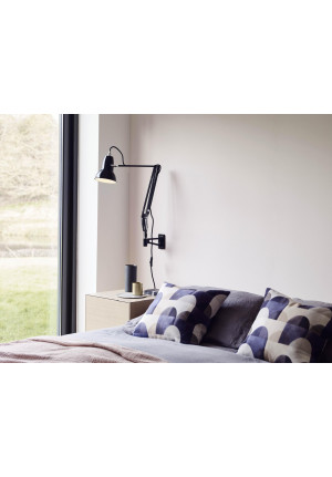 Anglepoise Original 1227 Lamp with Wall Bracket schwarz
