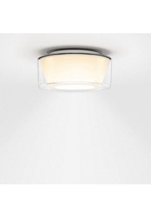 Serien Lighting Curling Ceiling Acryl klar / konisch opal M