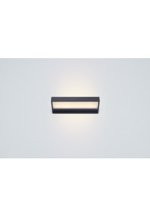 Serien Lighting SML2 Wall 220 Schwarz satinee / satinee