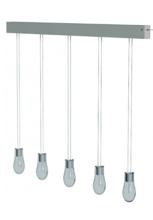 Anta Drop rail alu with 5 lamps