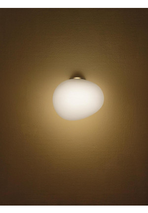 Foscarini Gregg Parete Media Semi 2 MyLight gold