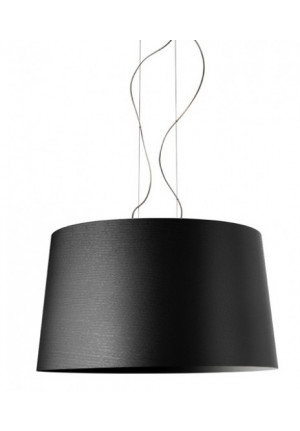 Foscarini Twice as Twiggy Sospensione black
