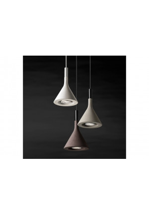 Foscarini Aplomb Mini white, brown and grey