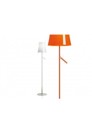Foscarini Birdie Lettura white and orange