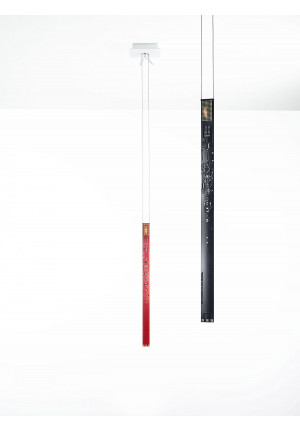 Ingo Maurer One New Flame red and black