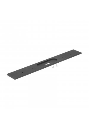 Ma[&]De Tablet W2 fixing bracket black, 36 cm