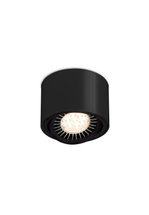 Mawa 111er round LED, dimmable black