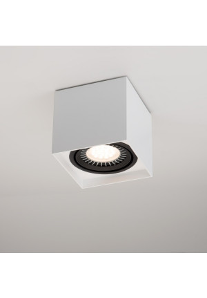 Mawa 111er square LED, dimmable white