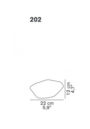 Oluce Stone of Glass 202 spare part