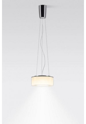 Serien Lighting Curling Suspension Rope Acryl clear / cylindric opal M