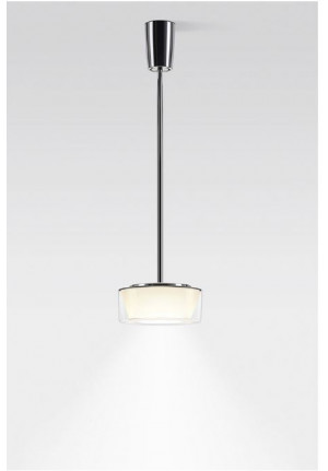 Serien Lighting Curling Suspension Tube Acryl clear / conical opal S