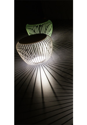 Vibia Meridiano 4710 creamy-white and green