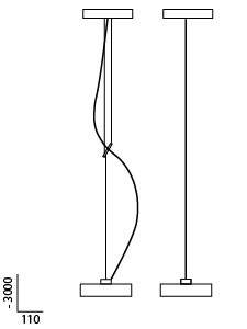 Anta Maru graphic, height adjustable on the left and height determinable on the right