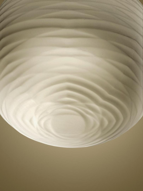 Foscarini Gem Sospensione shade from below