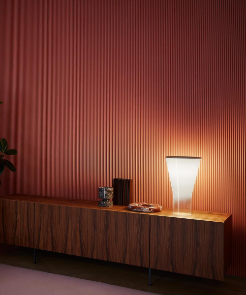 Foscarini Soffio switched on
