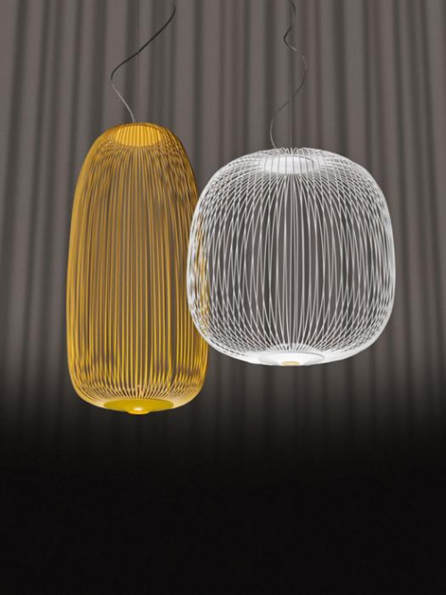Foscarini Spokes 1 yellow and 2 white