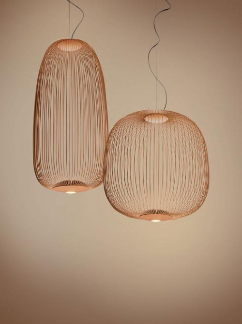 Foscarini Spokes 1 MyLight and 2 MyLight copper