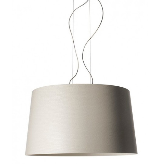 Foscarini Twice as Twiggy Sospensione greige grey-beige