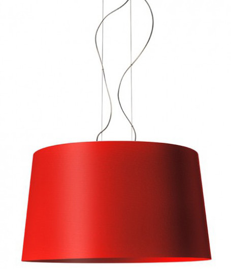 Foscarini Twice as Twiggy Sospensione crimsonred
