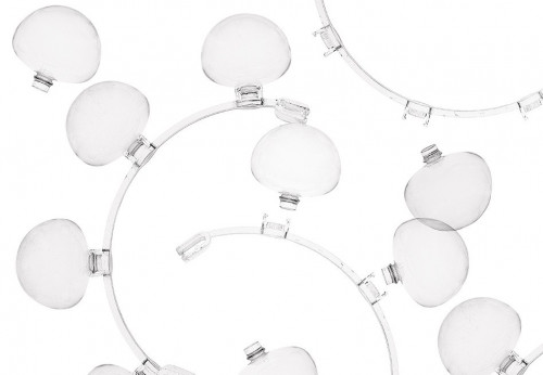 Foscarini Caboche Parete Media transparent Detail