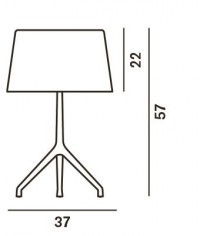Foscarini Lumiere XXL spare part