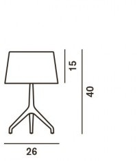 Foscarini Lumiere XXS spare part