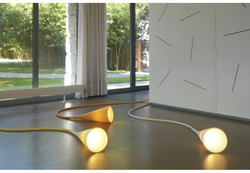 Foscarini Uto yellow and orange