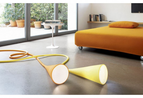 Foscarini Uto orange and yellow