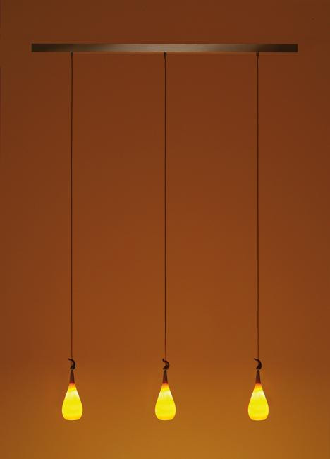 K-meral DAN pendant lamp 3-light with TIWI
