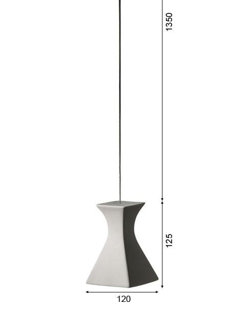 K-meral SOFI pendant lamp 1-light graphic