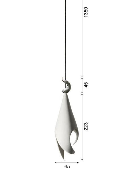 K-meral TRIS pendant lamp 1-light graphic