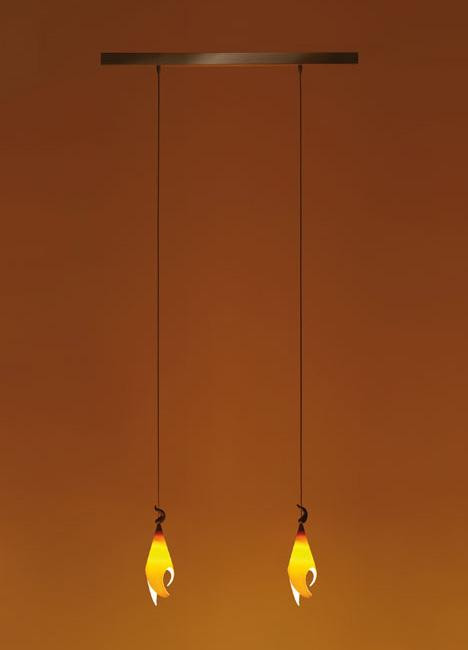 K-meral TRIS pendant lamp 2-light
