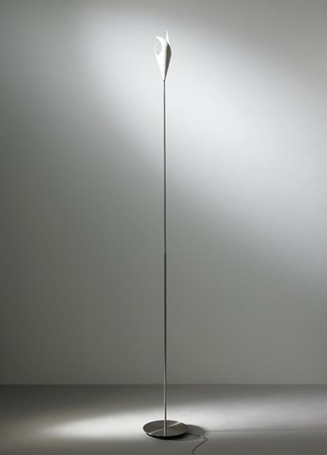 K-meral TRIS Floor Lamp base stainless steel