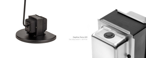 Lumina Daphine Terra LED base and two-step dimmer