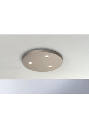 Bopp Close round 3-lights aluminium