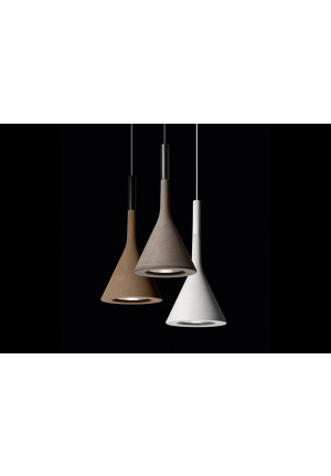 Foscarini Aplomb round multi-canopy 7 lights grey