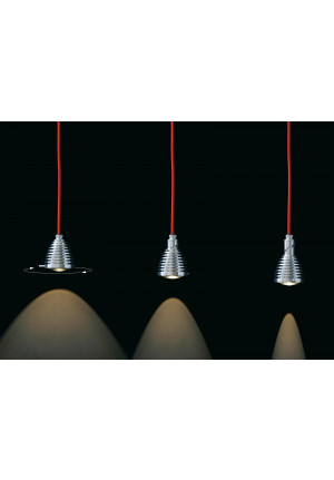 Less'n'more Athene Pendant Light A-BPL aluminum, cable black