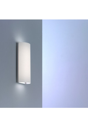 Serien Lighting Club Wall shade white, wall mounting alu brushed